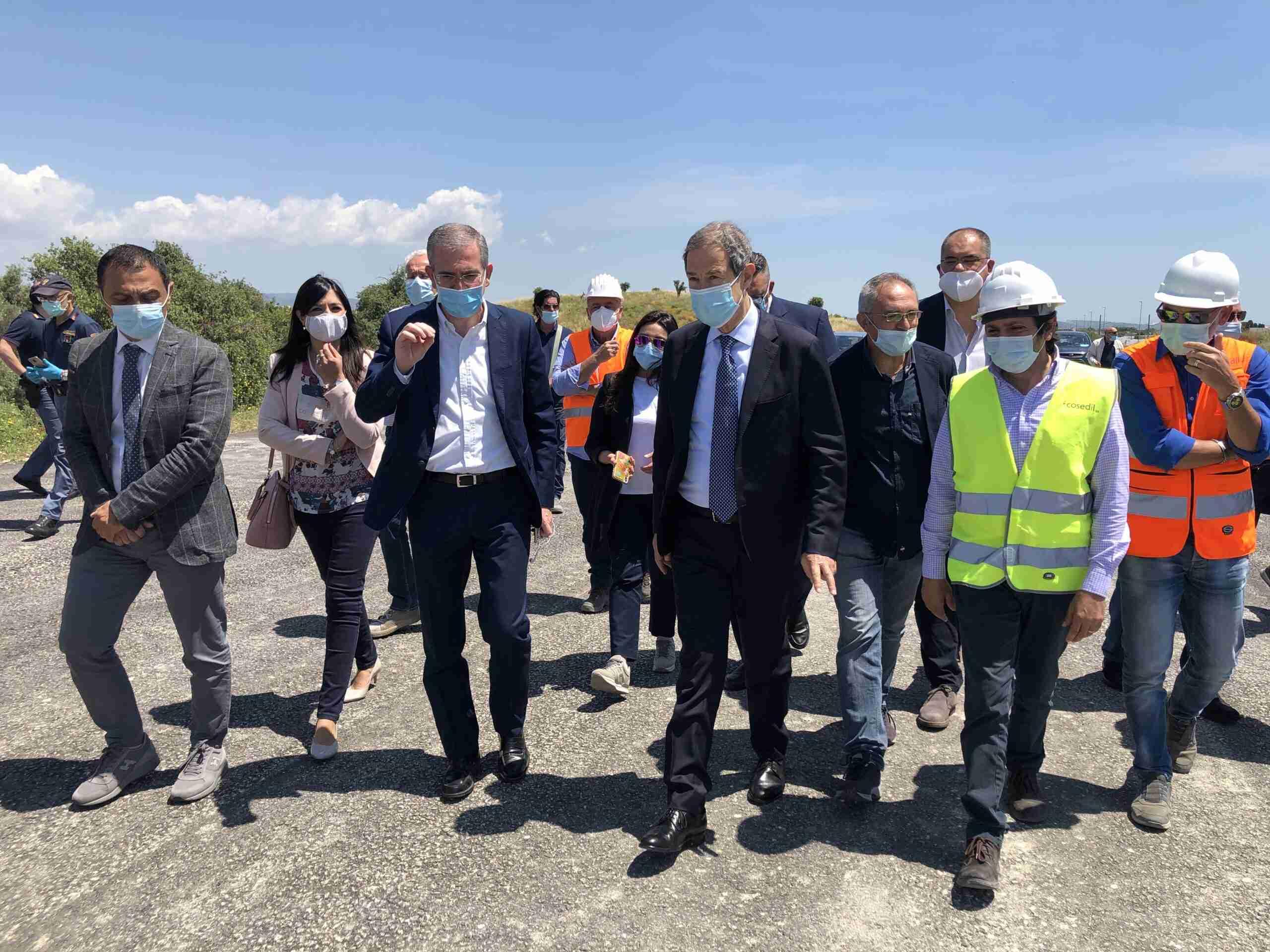 """Autostrada Rosolini-Modica, l'Ass. Falcone: """"Entro luglio lo svincolo di Rosolini"""""""