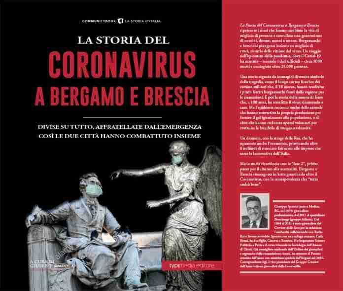 """""""La storia del coronavirus a Bergamo e Brescia"""", il nuovo libro del rosolinese Giuseppe Spatola"""