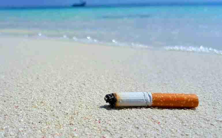 """Nelle spiagge di Noto vietato fumare e abbandonare mozziconi, Bonfanti: """"Difendiamo salute e natura"""""""