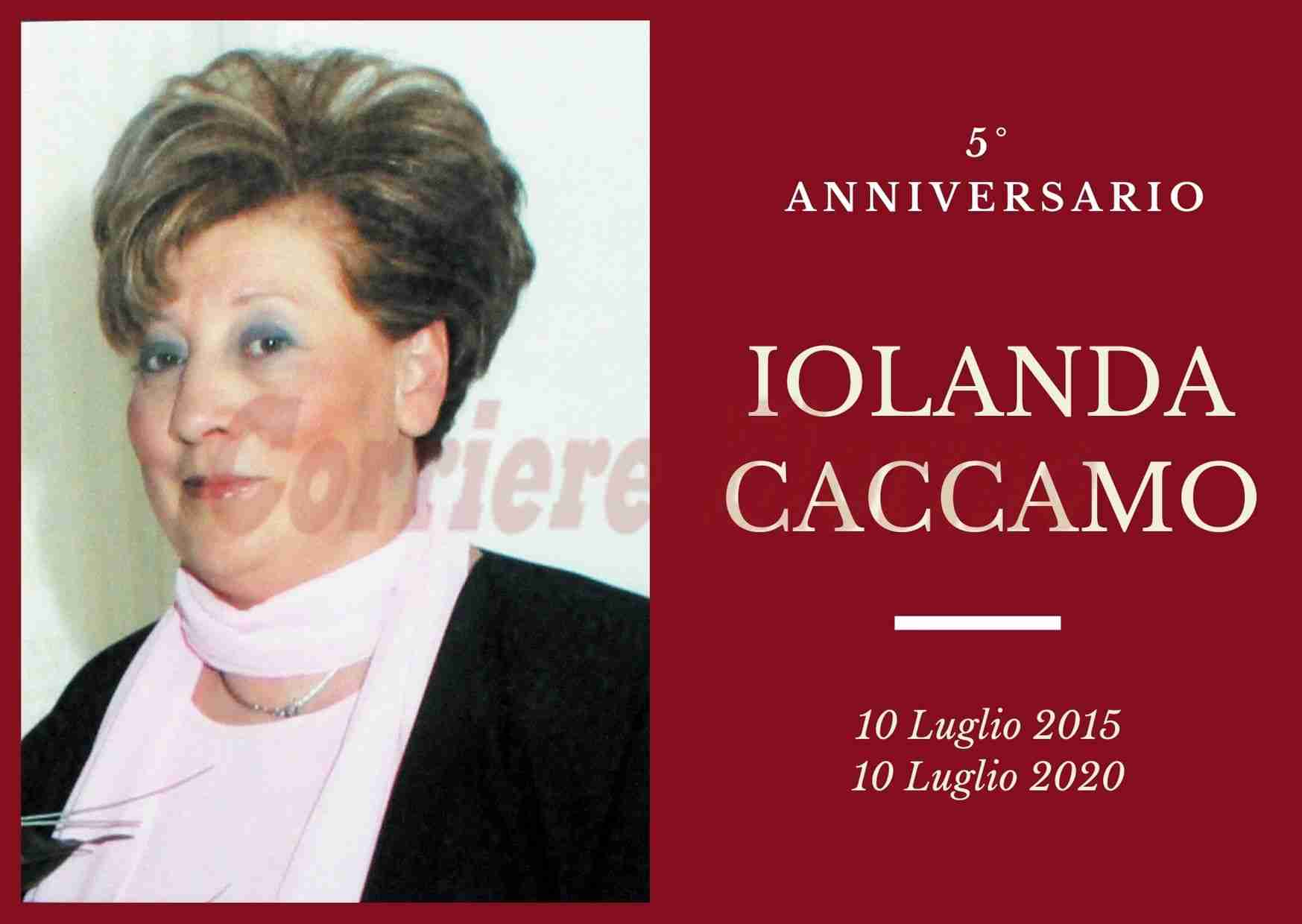 Necrologio: ricorre oggi il 5° Anniversario di Iolanda Caccamo.