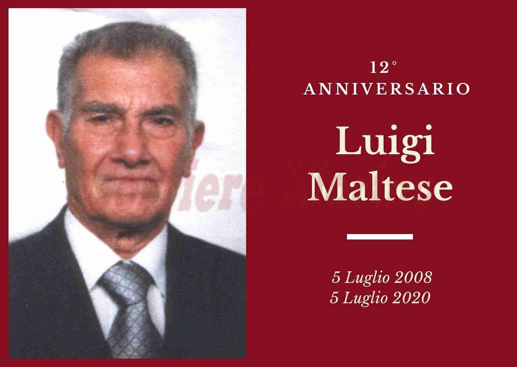 Necrologio: ricorre oggi il 12° Anniversario di Luigi Maltese
