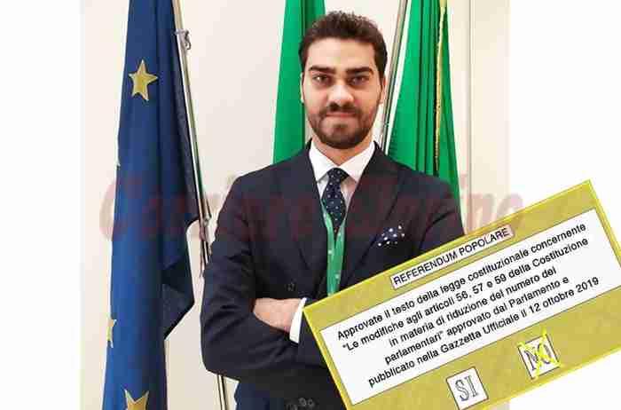 """Referendum taglio parlamentari, una scelta che va oltre un semplice """"Si"""" o """"No""""? L'analisi del giovane Giuseppe Covato"""