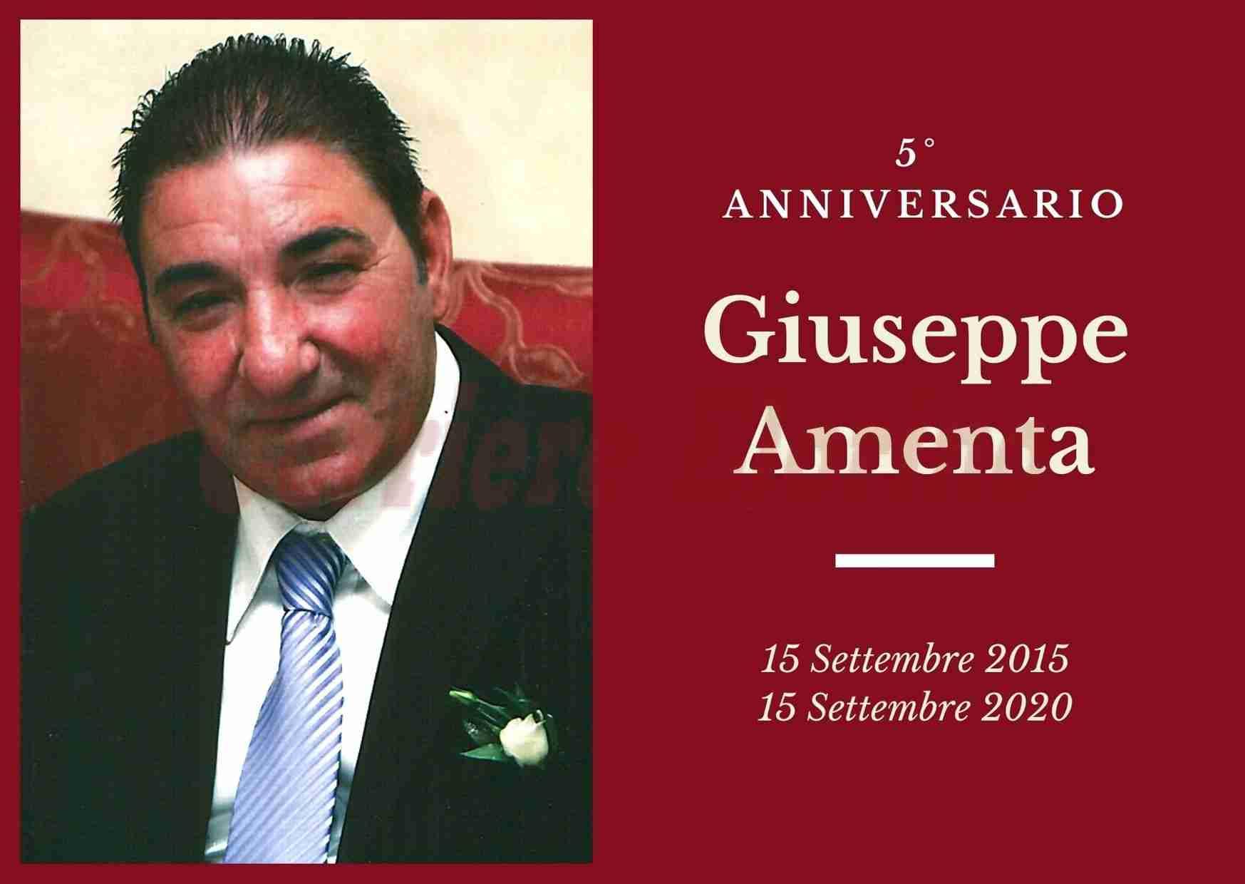 Necrologio: ricorre oggi il 5° Anniversario di Giuseppe Amenta