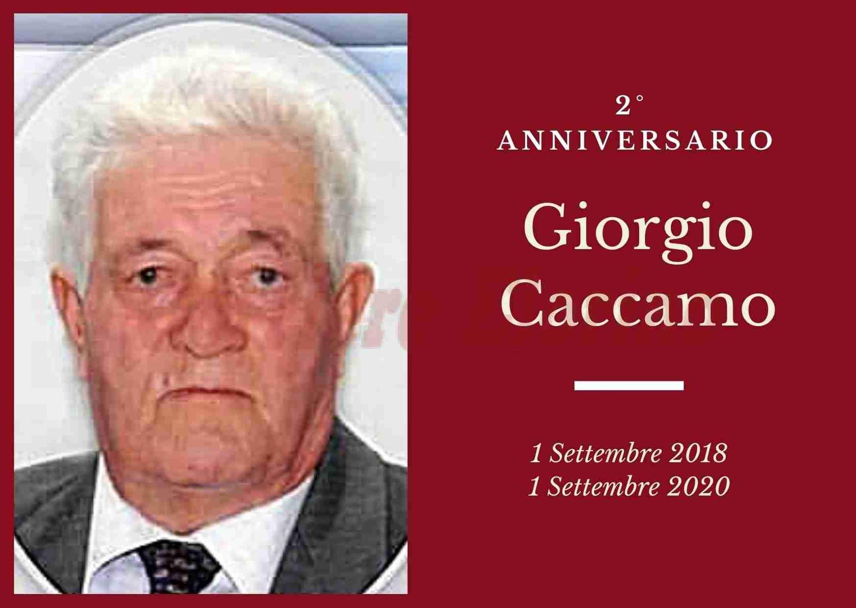 Necrologio: ricorre oggi il 2° Anniversario di Giorgio Caccamo