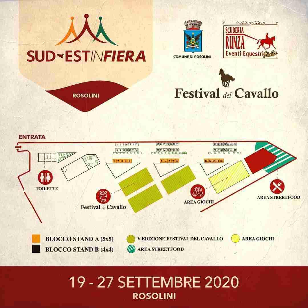 """Dal 19 al 27 settembre a Rosolini la manifestazione """"Sud-est in Fiera"""" e V Festival del Cavallo"""