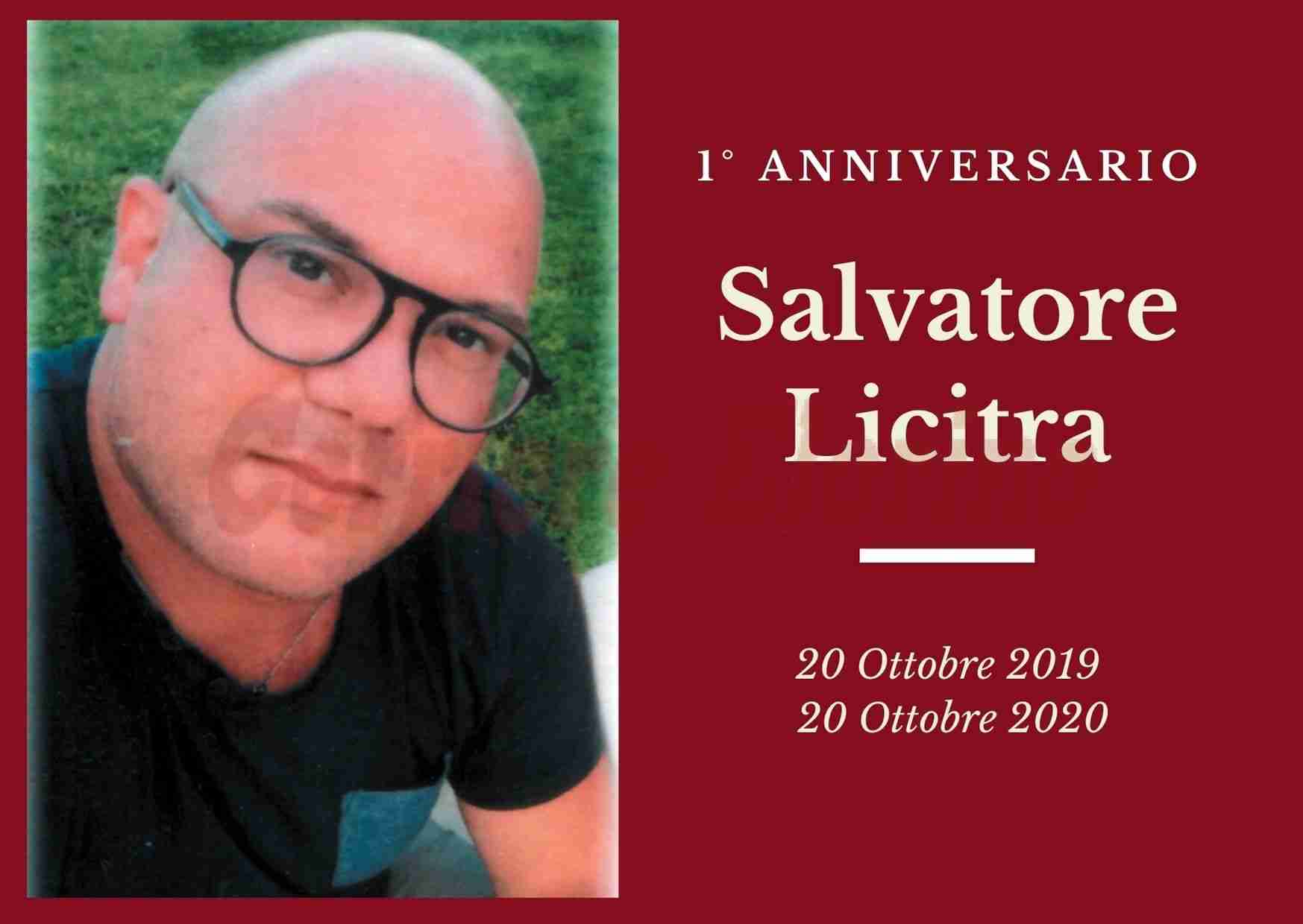 Necrologio: ricorre oggi il 1° anniversario dalla scomparsa del giovane Salvatore Licitra