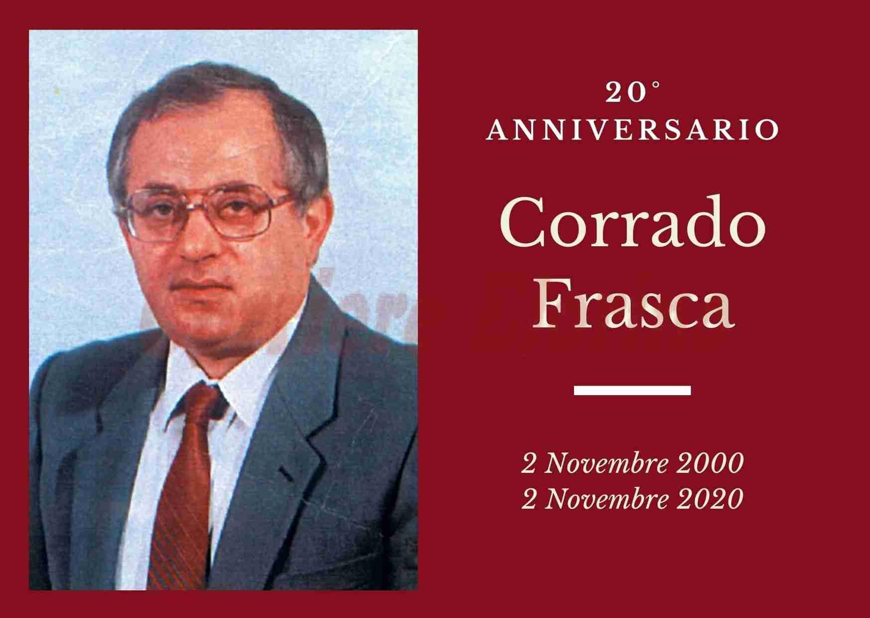 Necrologio: ricorre oggi il 20° anniversario di Corrado Frasca