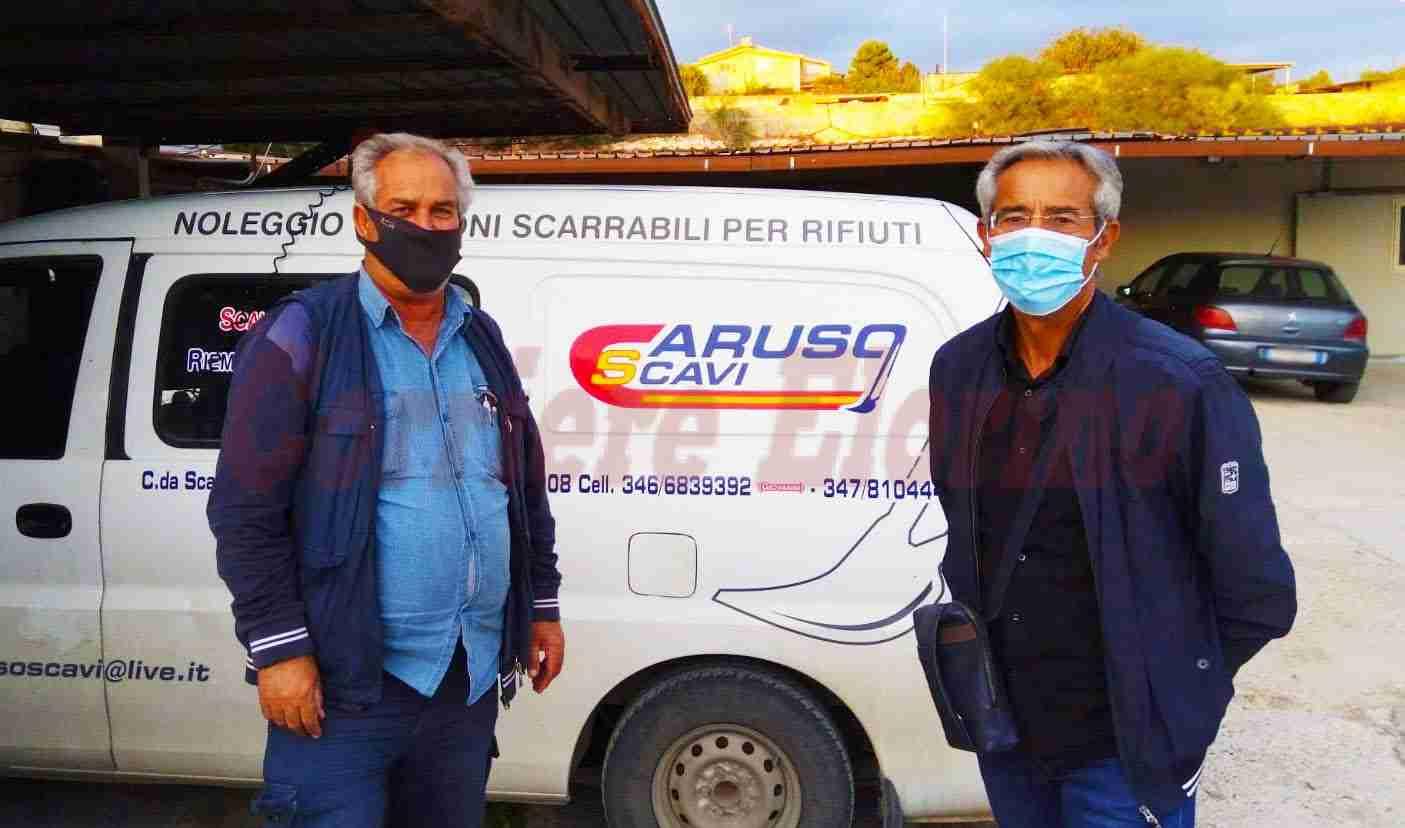 L'Asd Pietro Guarino ringrazia la ditta Caruso Scavi per la pulizia dei marciapiedi in città