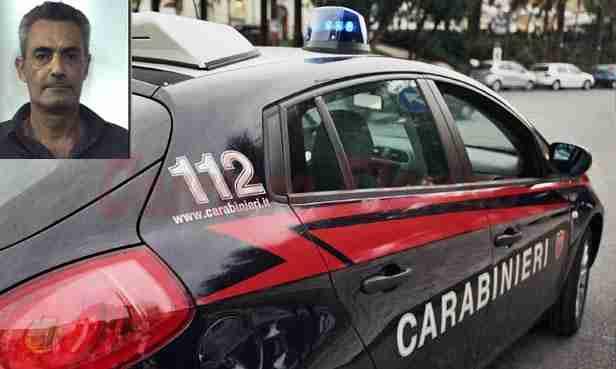 I carabinieri eseguono un ordine di carcerazione per detenzione e spaccio di stupefacenti