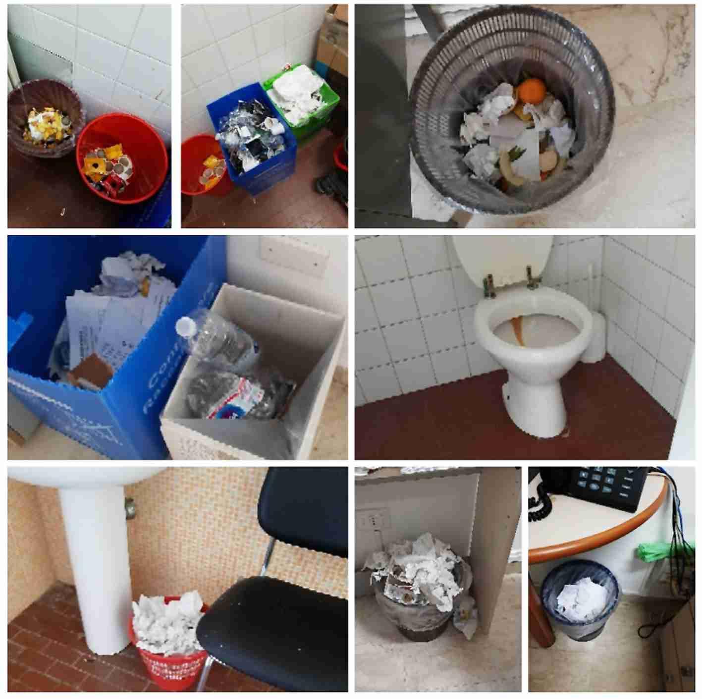Plesso comunale di via Sipione, i dipendenti lamentano la mancanza di pulizia e sanificazione