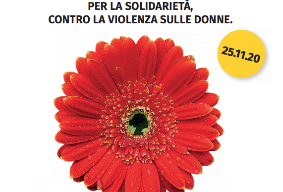 """""""Un fiore sospeso contro la violenza sulle donne"""", la Fioreria Lucenti aderisce all'iniziativa nazionale"""