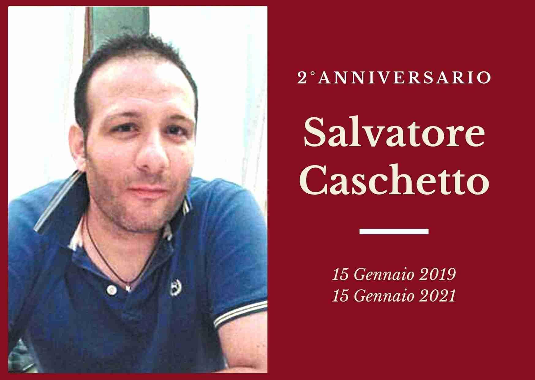 Necrologio: ricorre oggi il 2° anniversario di Salvatore Caschetto
