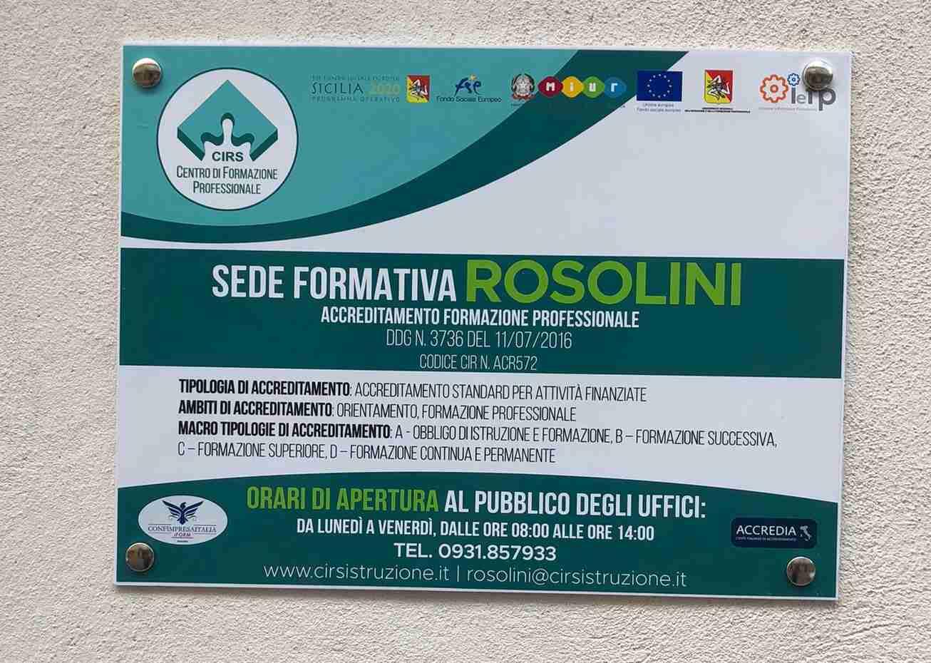 Nasce a Rosolini il Cirs: la scuola mestieri per parrucchieri, estetisti, elettricisti, idraulici, grafici e ristoratori