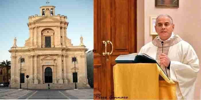 """Due parroci positivi, chiusa la Chiesa Madre, Don Luigi: """"Anche io in attesa di tampone"""""""