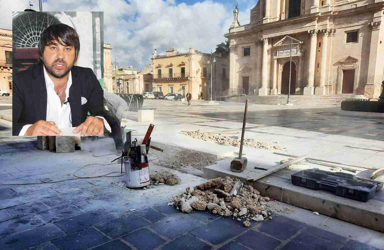 """Il consigliere Spadola sui lavori in piazza Garibaldi: """"Rampe per disabili """"sì"""", ma non così"""""""