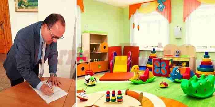 Il Commissario Cocco firma l'atto d'indirizzo, salvato l'asilo nido comunale Paperopoli