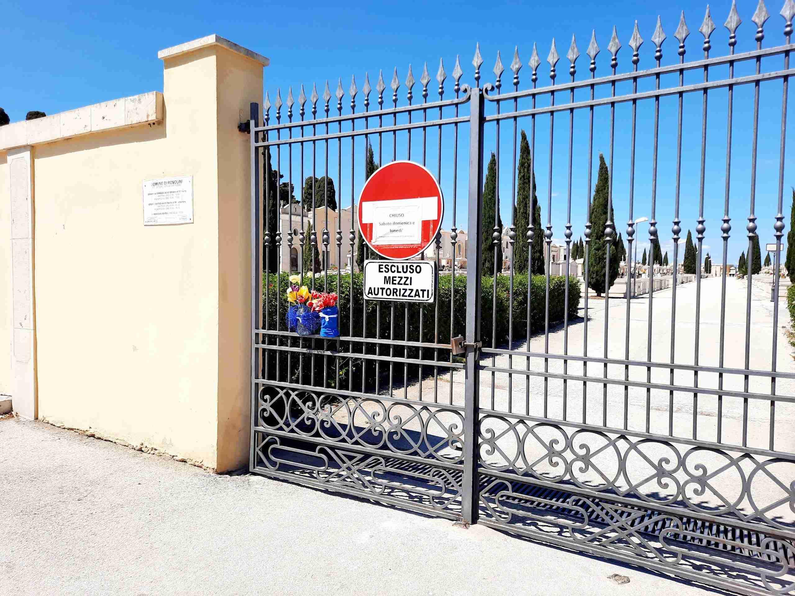 """Cimitero comunale, il Commissario Cocco: """"Casi in crescita, non è possibile l'apertura"""""""