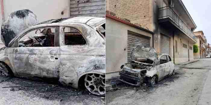 Notte di fuoco a Rosolini, in fiamme auto di una giovane 20enne