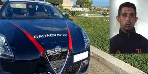 Evade più volte dai domiciliari, giovane rosolinese arrestato dai Carabinieri